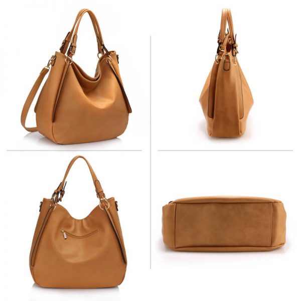 AG00448-Large Hobo Shoulder Bag – Nude_3_