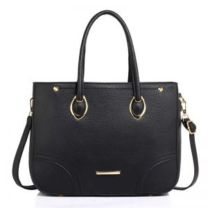 Black Womens Tote Shoulder Bag