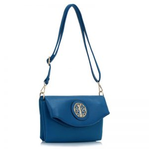 Blue Shoulder Cross Body Bag