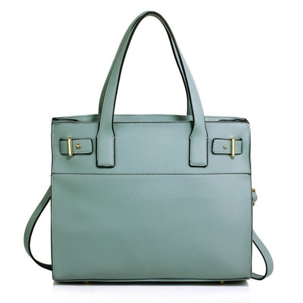 Blue Tote Shoulder Handbag For Women – AG00527_1_