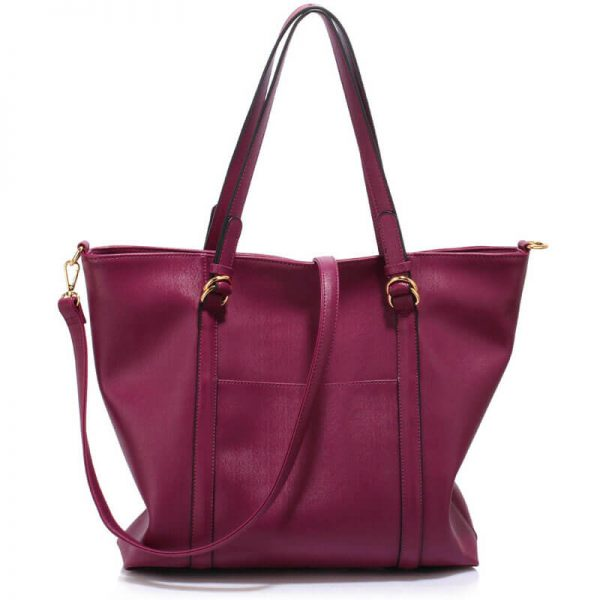 Burgundy Handbag For Women – LS00413_(1)