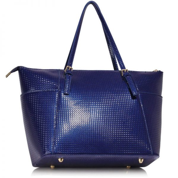 Navy Womens Large Tote Bag – LS00350A_2_