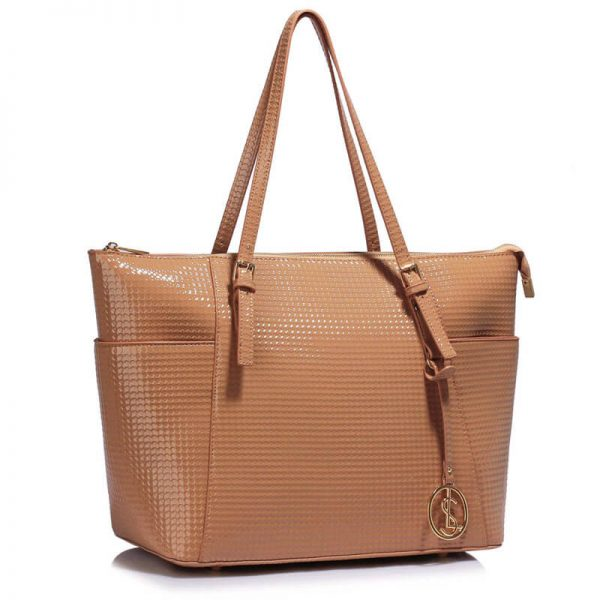 Nude Womens Large Tote Bag – LS00350A_1_
