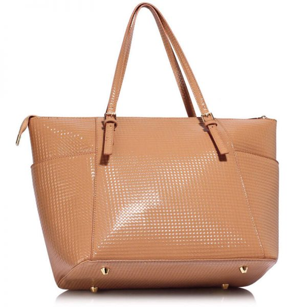 Nude Womens Large Tote Bag – LS00350A_2_