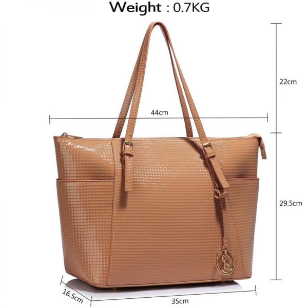Nude Womens Large Tote Bag – LS00350A_4_