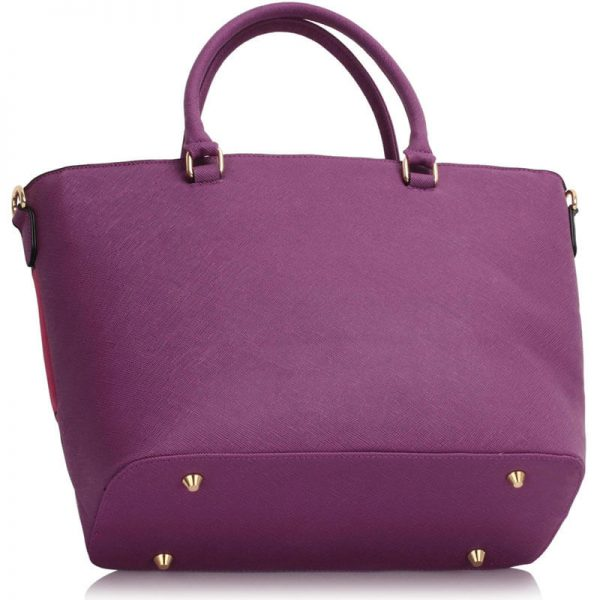 Purple Fuchsia Shoulder Handbag For Women – Ls00406A_(2)