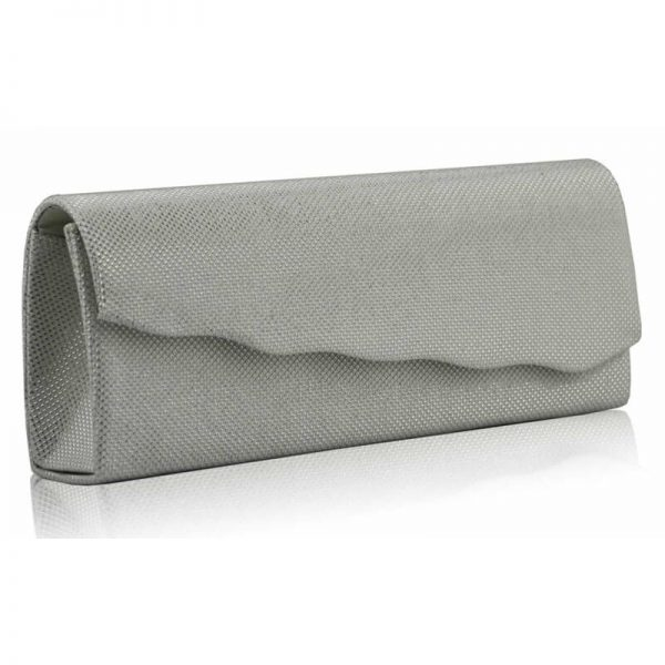 White Evening Clutch Bag LSE00248-