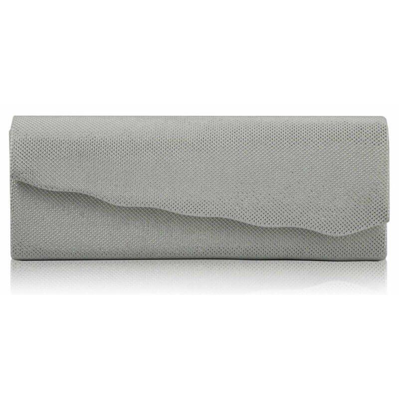 White Evening Clutch Bag