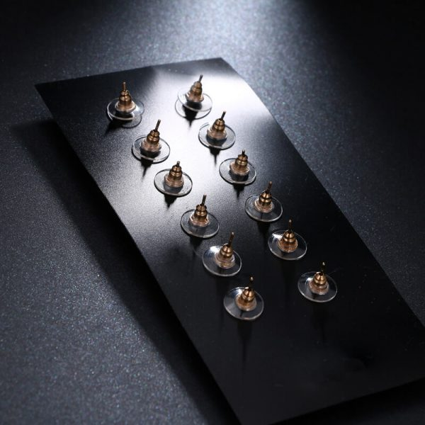 6 Pair Gold earring Set AS40