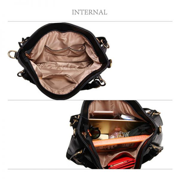 AG00448-Large Hobo Shoulder Bag BLACK__4_