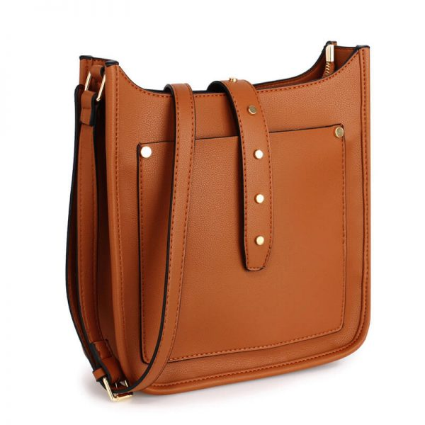 AG00588_Brown_Fashion Cross Body Shoulder Bag_1_