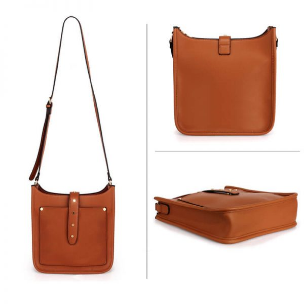 AG00588_Brown_Fashion Cross Body Shoulder Bag_3_