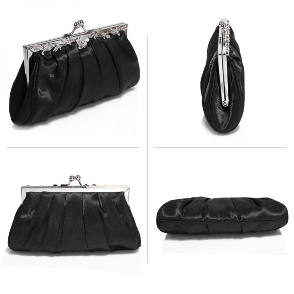 AGC0098 – Black Crystal Evening Clutch Bag_3_