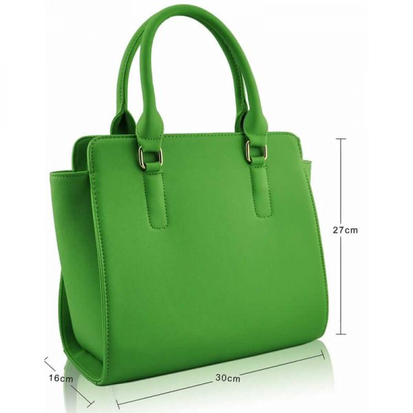 LS0020 – Green Grab Tote Bag–