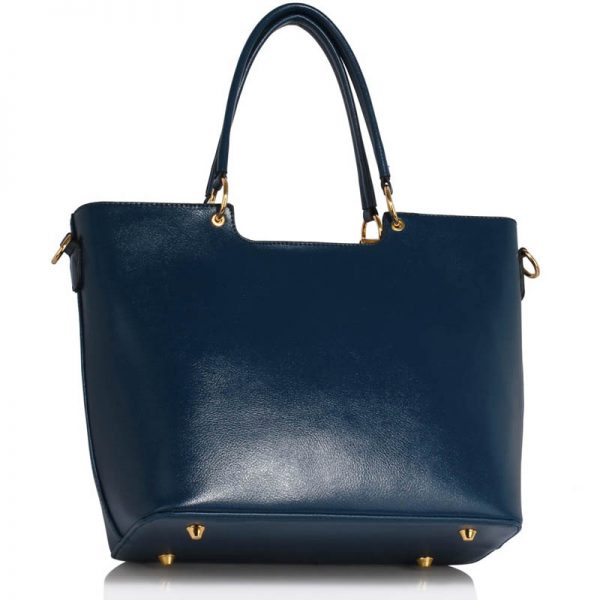 Navy Bow-Tie Shoulder Handbag – LS00348A_2_