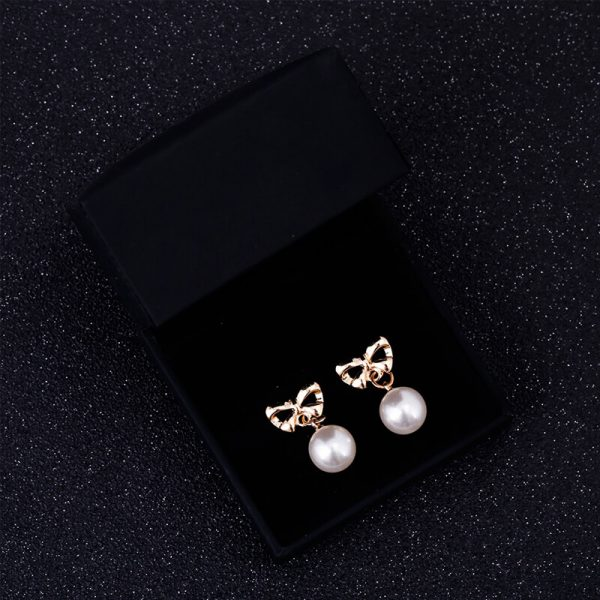 Pearl Butterly Gold Earring AE81-
