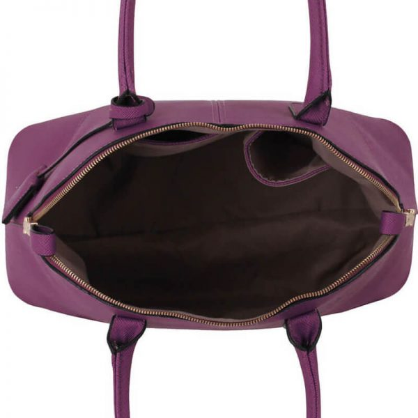 Purple-Grab-Tote-Shoulder-Bag-LS00331-3