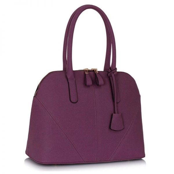 Purple-Grab-Tote-Shoulder-Bag