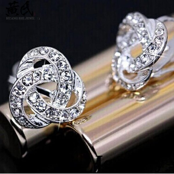 Silver Diamate Fashion Earring AE83–