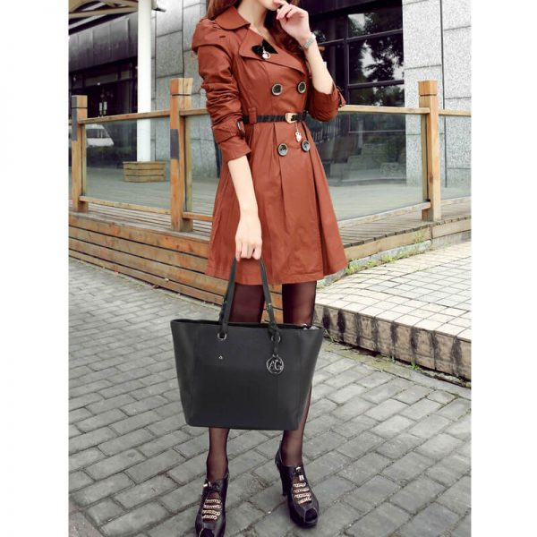AG00532 – Black Large Tote Shoulder Bag_6_