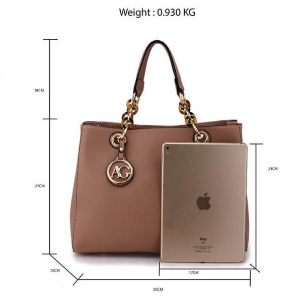 AG00536A_nude womens tote shoulder bag_2_