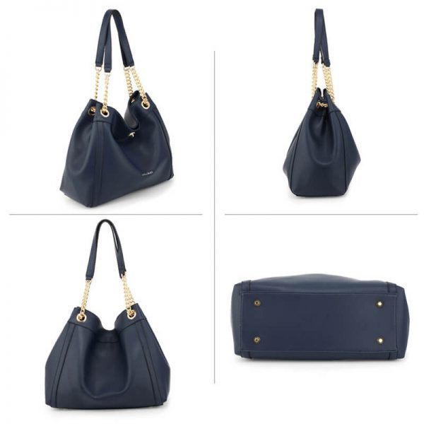 AG00561A – Navy Fashion Hobo Shoulder Bag_3_