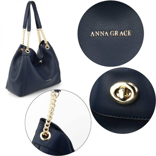 AG00561A – Navy Fashion Hobo Shoulder Bag_5_