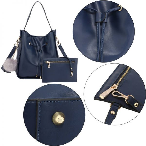AG00591M – Navy Drawstring Tote Bag With Pouch_5_