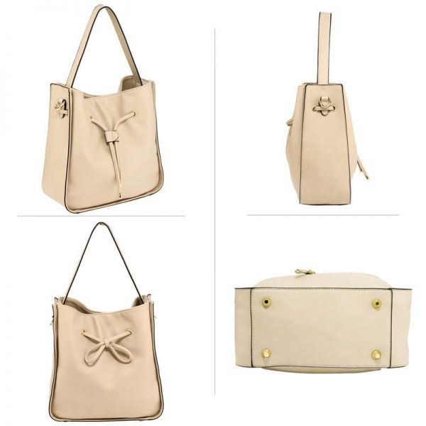 AG00591M – Nude Drawstring Tote Bag With Pouch_3_