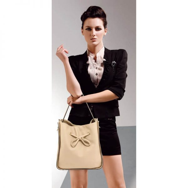 AG00591M – Nude Drawstring Tote Bag With Pouch_6_