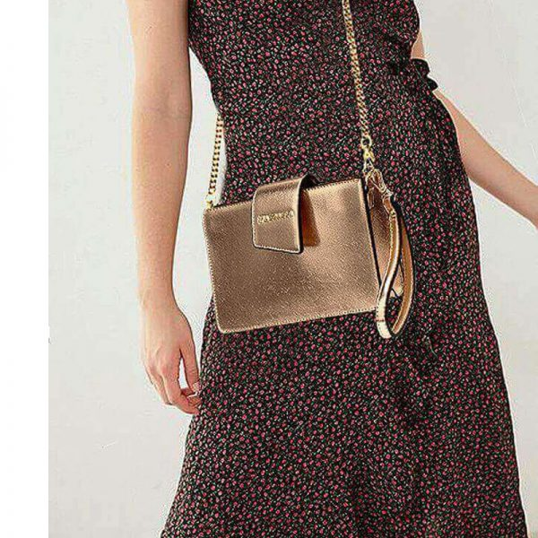 AG00593 – gold Cross Body Shoulder Bag With Wristlet6_