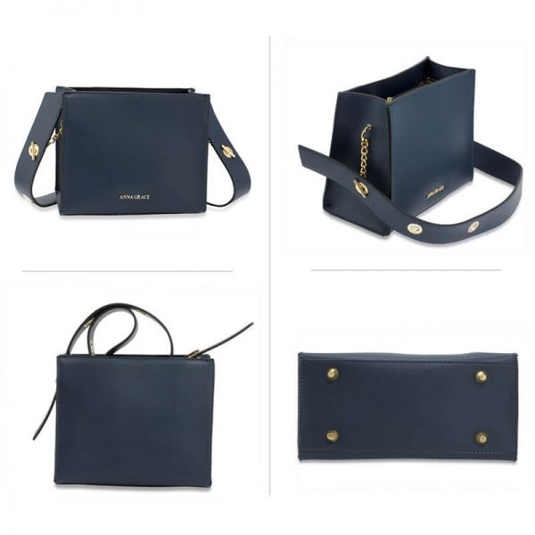 AG00596 – Navy Anna Grace Fashion Tote Bag_3_