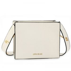 White Anna Grace Fashion Tote Bag