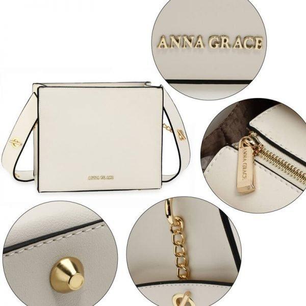 AG00596 – White Anna Grace Fashion Tote Bag_5_