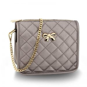 grey Cross Body Shoulder Bag