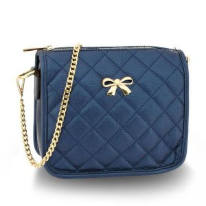 navy Cross Body Shoulder Bag