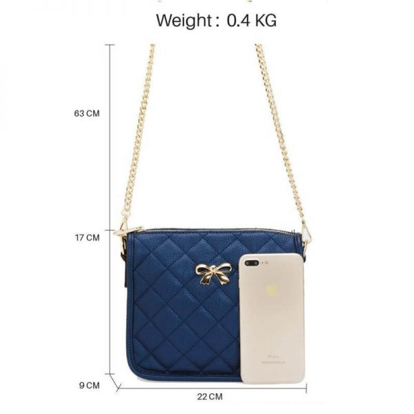 AG00598 navy Cross Body Shoulder Bag2_