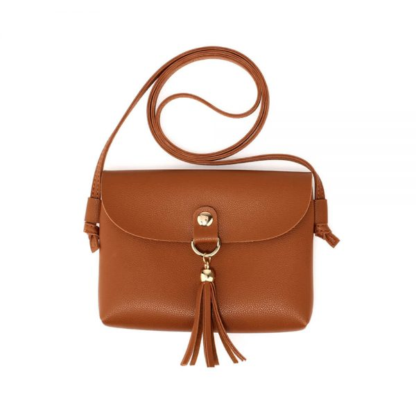 AG00612 – 3 Pieces Set Brown Womens Fashion Handbags_3_