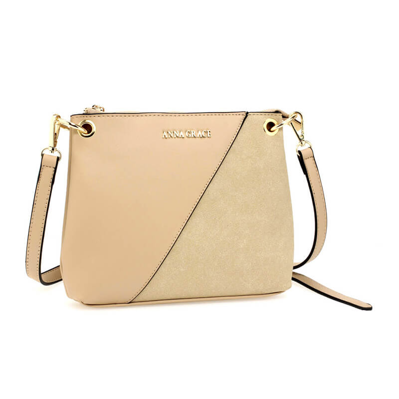 Nude Anna Grace Cross Body Shoulder Bag