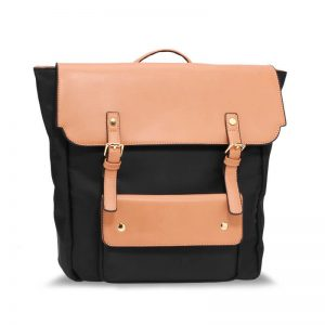 Black Nude Backpack Rucksack School Bag
