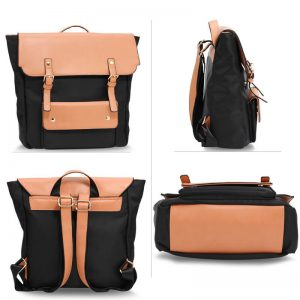 Black Nude Backpack Rucksack School BagBlack Nude Backpack Rucksack School Bag