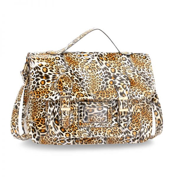 AG00672 – Brown Cheetah Design Satchel_1_