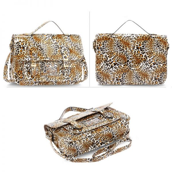 AG00672 – Brown Cheetah Design Satchel_3_