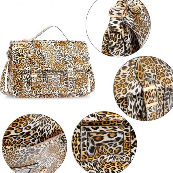 AG00672 – Brown Cheetah Design Satchel_5_