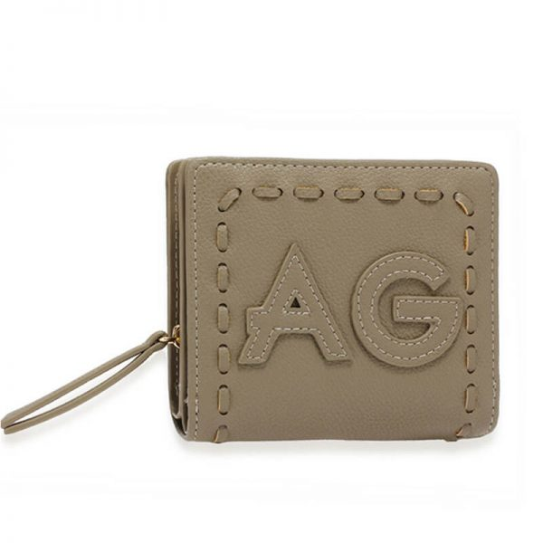 AGP1105 – Grey Anna Grace Zip Around Purse Wallet_1_