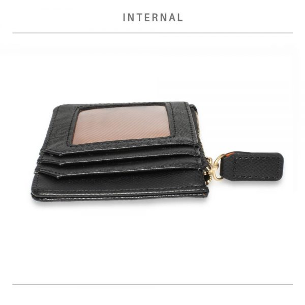 AGP1109 – Black Anna Grace Zip Coin Pouch_4_