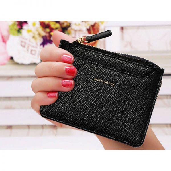 AGP1109 – Black Anna Grace Zip Coin Pouch_6_