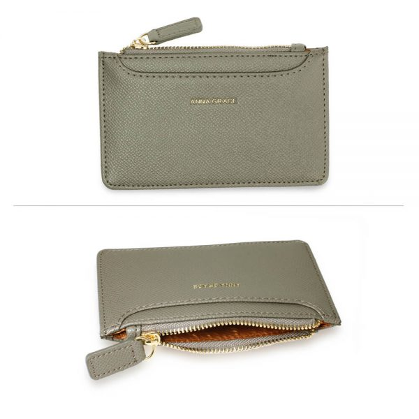 AGP1109 – Grey Anna Grace Zip Coin Pouch_3_