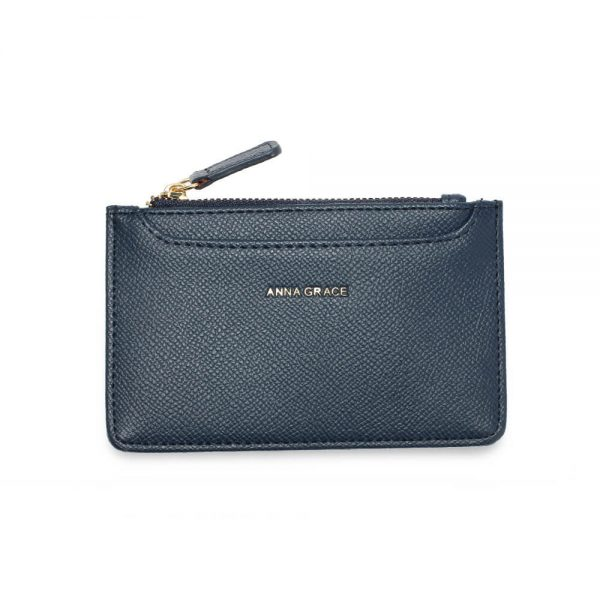 AGP1109 – Navy Anna Grace Zip Coin Pouch_1_