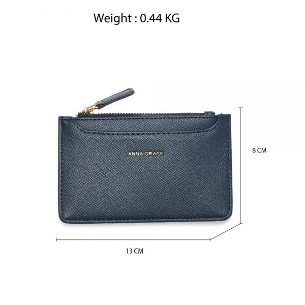 AGP1109 – Navy Anna Grace Zip Coin Pouch_2_